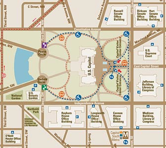 Getting to the Capitol | U.S. Capitol Visitor Center