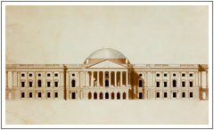 Thornton drawing of the capitol