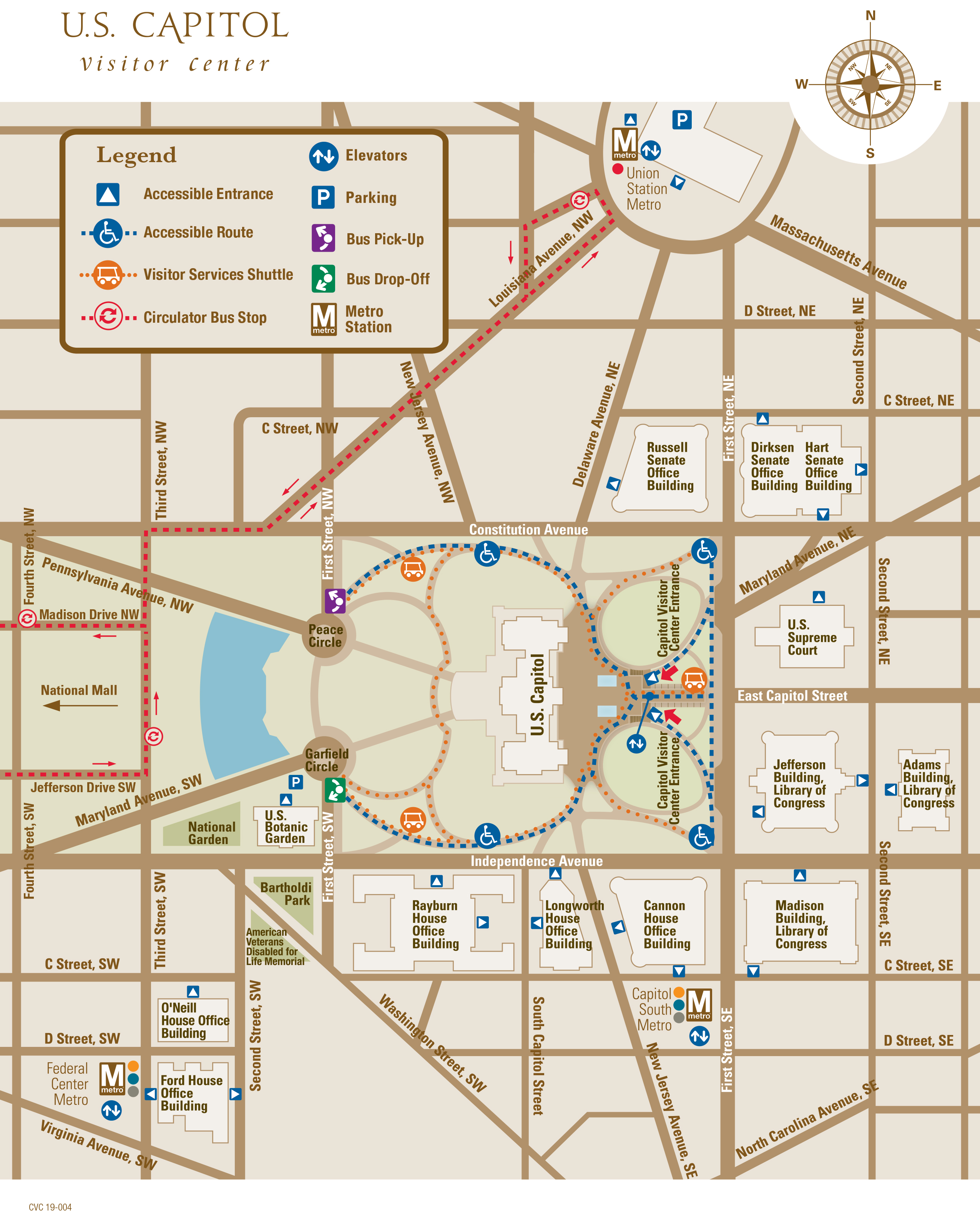 U.S. Capitol Map | U.S. Capitol Visitor Center
