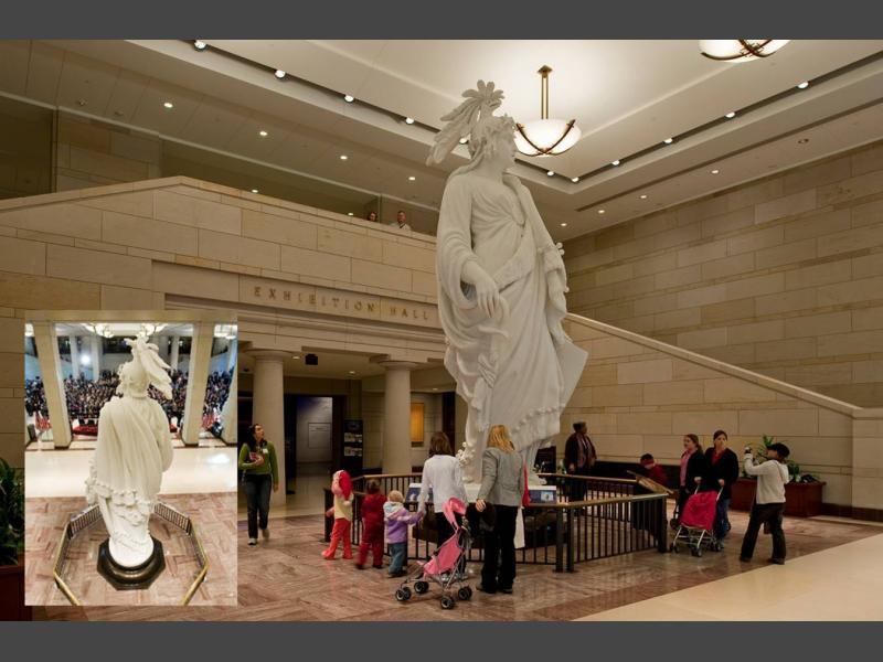 Tour Exhibition Hall U S Capitol Visitor Center