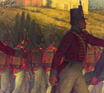 The British Burn the Capitol, August 24, 1814