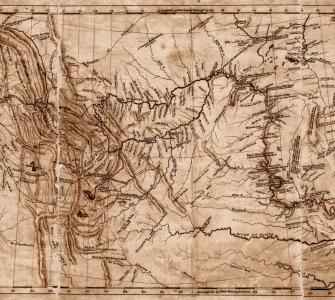 Map of the Lewis and Clark Expedition, 1812