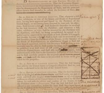 Draft agreement between Samuel Otis and John Beckley regarding the printers for Congress, June 29, 1789