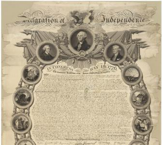 John Binns' Engraving of the Declaration of Independence
