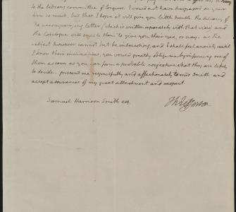 Thomas Jefferson's letter to Samuel Harrison Smith, September 21, 1814