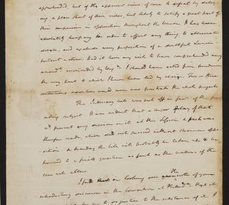 Letter from James Madison to Edmund Randolph, August 21, 1789