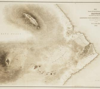 Map of Part of the Island of Hawaii, 1841