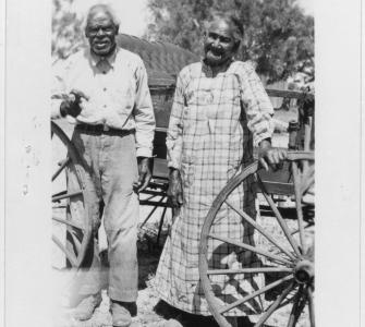 Gelatin-silver photographic prints, interviewees of the Slave Narratives Project, Texas, 1937-1938