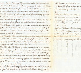 Spot Resolution, Abraham Lincoln, December 22, 1847