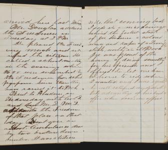 Diary of Samuel Denham Barnes, December 10th, 1865 Entry