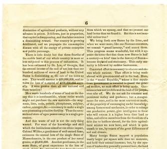 Representative Justin S. Morrill's speech delivered in the House of Representatives, April 20, 1858