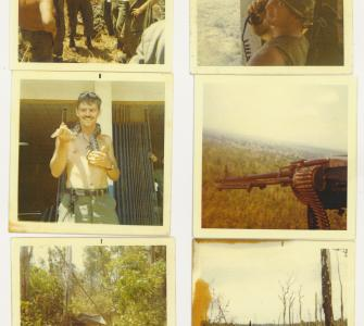 Soldiers in Vietnam, photographs from the Walter Lewis Kudlacik Collection, Veterans' History Project, ca. 1970