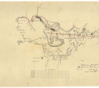 Sketch from the Office of the Mexican Boundary Survey