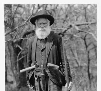 Photograph of homesteader Daniel Freeman