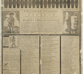 Columbian Tragedy: . . . Official Account of the . . . Soldiers, Who Were Slain . . . in the . . . Indian Battle, November 4, 1791