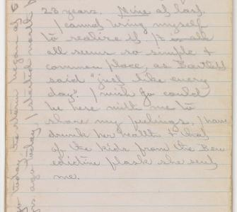 Commander Robert Peary's diary, April 6, 1909