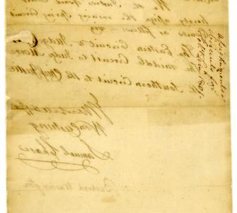 Circuit Court allotment order for February term, 1801