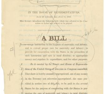House Resolution 12634, A bill to encourage instruction in the hygiene of maternity and infancy