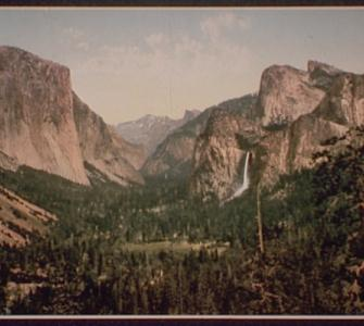 Yosemite Valley, by William Henry Jackson