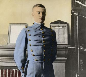 Dwight D. Eisenhower as a cadet, United States Military Academy, West Point