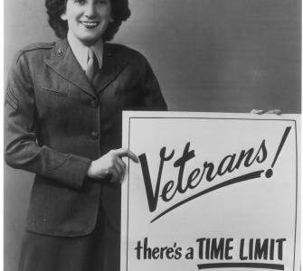 Reminder to veterans, January 1951