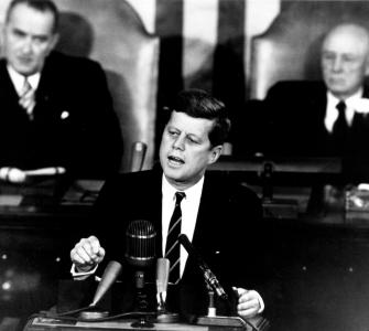 "President John F. Kennedy Presents His ""Urgent National Needs"" Speech to a Joint Session of Congress, May 25, 1961"