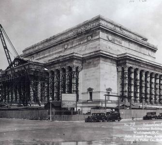 National Archives construction