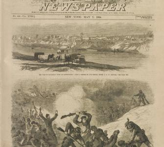"""The War in Tennessee,"" Frank Leslie's Illustrated Newspaper, May 7, 1864"