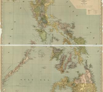 Map of the Philippine Islands, map compiled by Casper W. Hodgson and engraved by A. Briesemeister, 1908