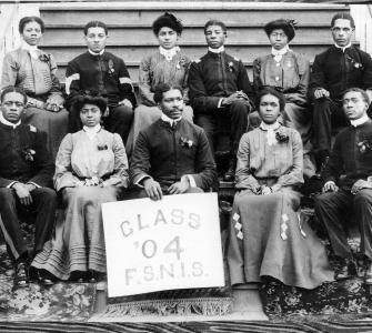 Florida State Normal and Industrial School Class of 1904, photograph, 1904
