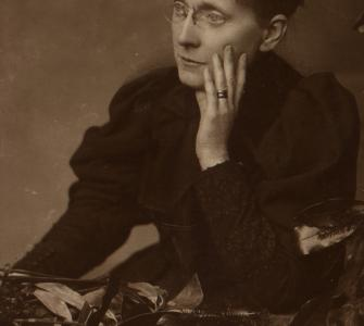 Frances Willard, photograph, ca. 1889