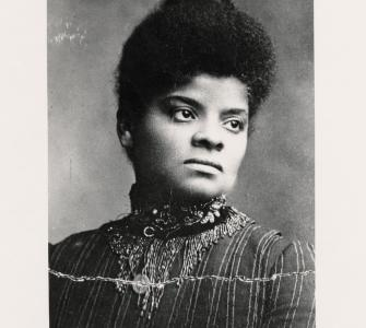 Ida B. Wells-Barnett, photograph by Oscar B. Willis, n.d.