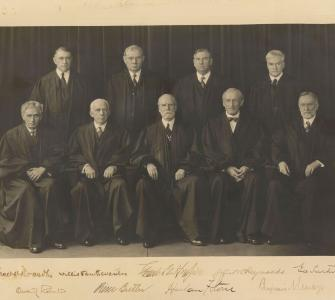 U.S. Supreme Court, photograph, 1937