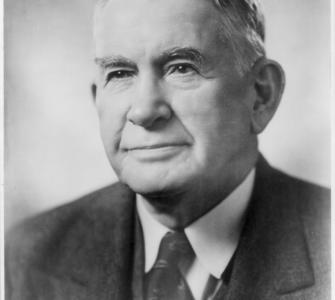 Senator Alben W. Barkley of Kentucky