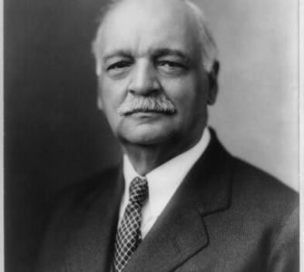 Senator Charles Curtis of Kansas, photograph, ca. 1932