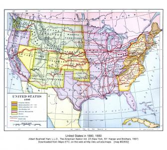 United States Expansion and the Railroads