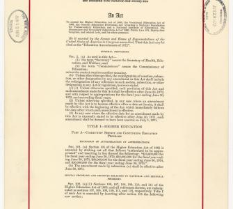 Title IX of the Education Amendments of 1972