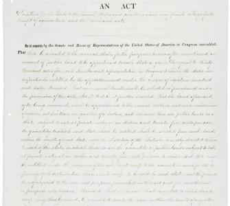 Morrill Land Grant Act