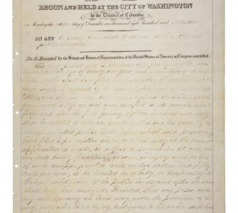 The Homestead Act, May 20, 1862
