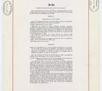 Civil Rights Act of 1960