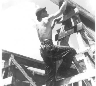 In 1935, Congress provided $1.4 billion to fund WPA projects, such as construction of prefabricated buildings, intended to create more permanent employment.