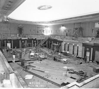 Remodeling the House Chamber, 1950