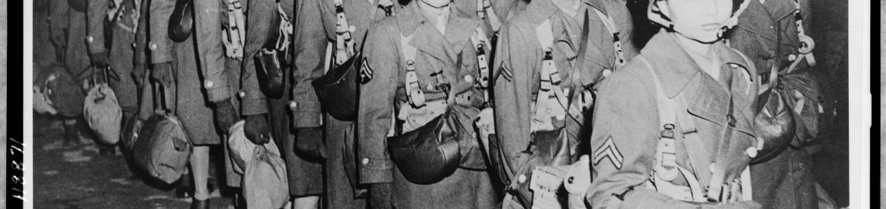 First African American Members of the Women's Army Corps Assigned to Overseas Duty