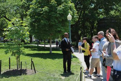 Outdoor Tour of the Capitol Grounds