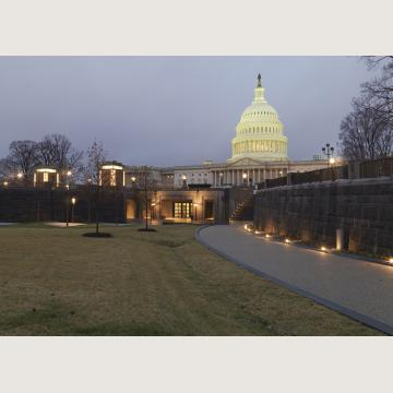 Visitors may now enter the Capitol through the U.S. Capitol Visitor Center.