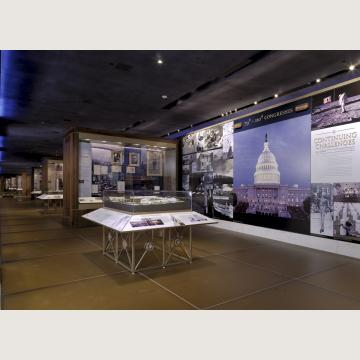 Exhibition Hall at the Capitol Visitor Center