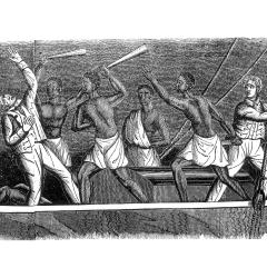 In 1839, African captives on the slave ship Amistad mutinied