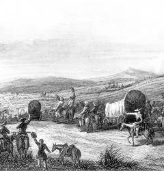 Traders opened the Santa Fe Trail from Missouri to the Southwest in 1822.