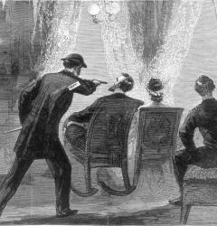 John Wilkes Booth assassinated President Lincoln