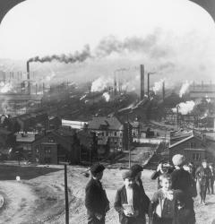 Pittsburgh's steel mills propelled industrial prosperity, but left its residents living in smoke and smog.